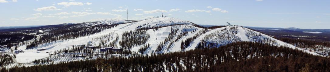 Ski resort Ruka Finland