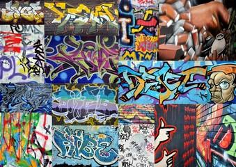 collage.... graffiti