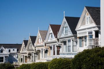 Viktorianische Häuser