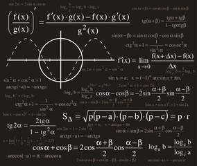 Formulas gackground