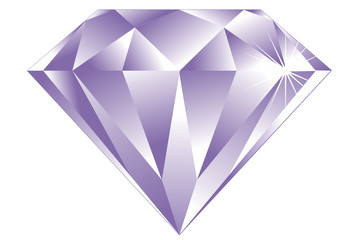 the vector image of lila diamond