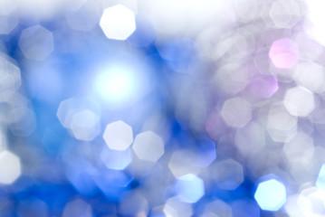 blue christmas light background
