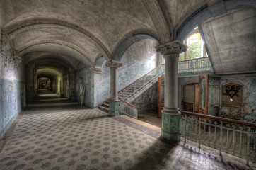 Canvas Prints Old Hospital Beelitz Old Hospital in Beelitz
