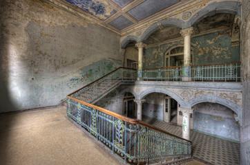 Keuken foto achterwand Oud Ziekenhuis Beelitz old hospital