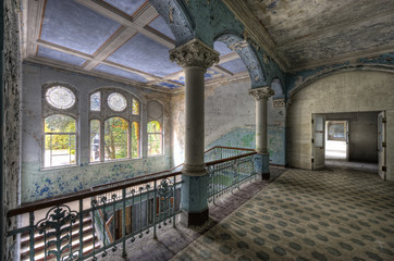 Canvas Prints Old Hospital Beelitz Beelitzer Sanatorium