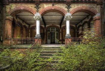 Keuken foto achterwand Oud Ziekenhuis Beelitz Säulenaufgang