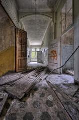 Keuken foto achterwand Oud Ziekenhuis Beelitz dirty floor