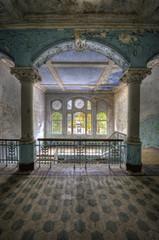 Printed kitchen splashbacks Old Hospital Beelitz Beelitzer Heilstätten