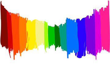 Strisce di vernice colori
