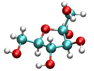 Fructose Molecule