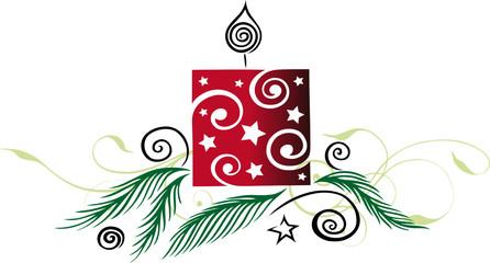 christmas elements, xmas, Weihnachten, Advent, Kerze