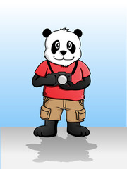 Photographer Panda