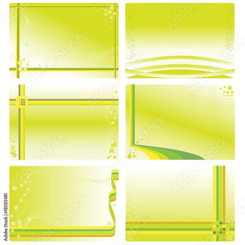 Vorlagen set f r visitenkarten o a stockfotos und for Visitenkarten gratis vorlagen