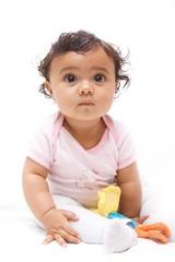 Baby wondering