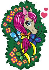 Pony mit Herz