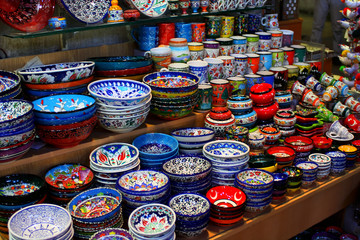 Turkish souvenir plates