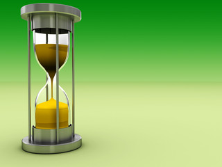 sand clock background