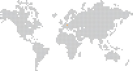 Wall Murals Pixel Pixelglobus Vektor