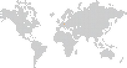 Poster Pixel Pixelglobus Vektor