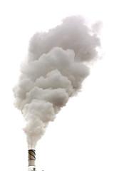 Dirty smoke isolated