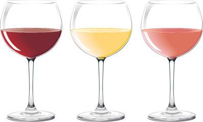 Verres de vin - Wine