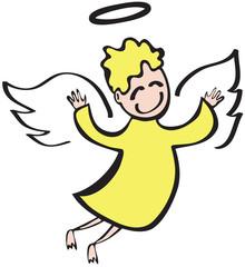 Angel - Engel fröhlich