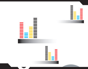Graphical representation of blocks in different planes