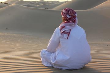 Sitting Arab