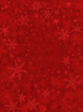 Subtle Red Snow Background