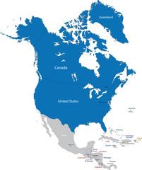 Members of NATO in North America
