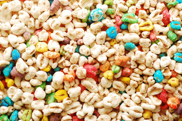 expanded wheat grains