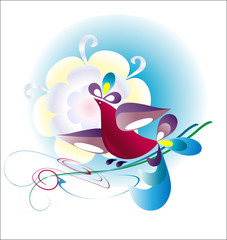 Decorative birdie