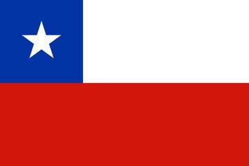 Chile Flagge Fahne