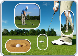 Golf Collage 3