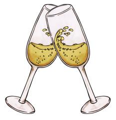 Silvester, Sylvester, Sekt, Party, Champagne, Neujahr