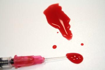 Ausrufezeichen Blut