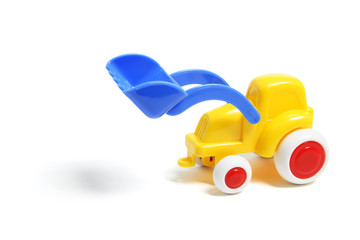 Plastic Toy Earthmover