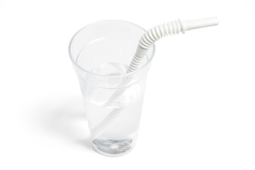 Water in Plastic Cup