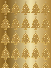 christmas golden wallpaper
