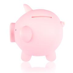 Pink piggy bank 2