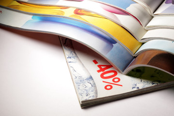 Magazines discount 40%