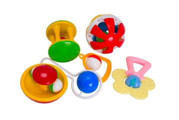 six rattles for newborns