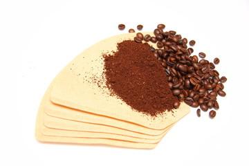 Poster Coffee bar filtre à café
