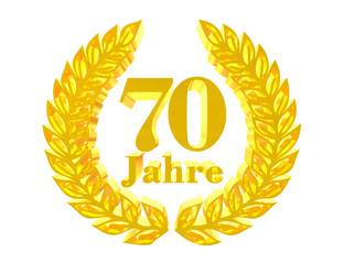 70 Jahre - 3D Render