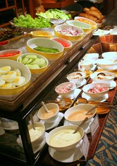 Buffet de salades