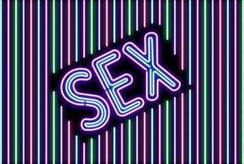 Sex Neon Wall