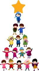 Christmas Tree of Children