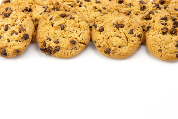 cookies  isolated on white backgrounds