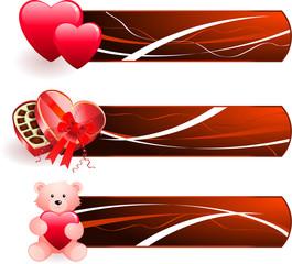 romantic Valentine's Day design background