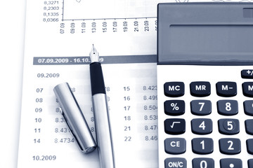 Calculate money with the calculator